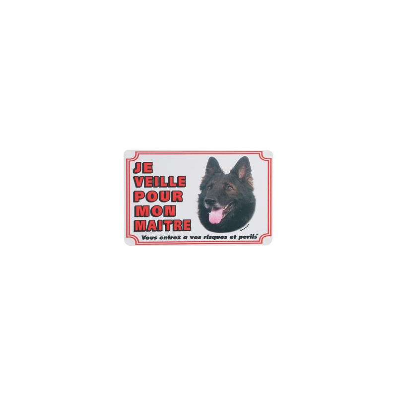 1 Plaque de garde Groenendael