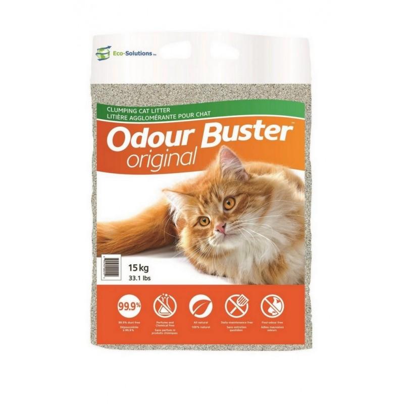 1 Lot de 4 sacs de Liti?re chat Odour Buster