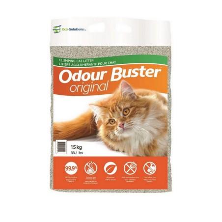 1 Lot de 4 sacs de Litière chat Odour Buster
