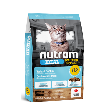 1 Croquettes Nutram Light pour chat